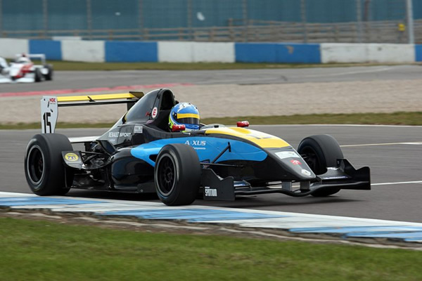 Double Delight for MGR at Donington