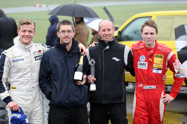 MGR and Mason Reign Supreme at Rain-Hit Brands