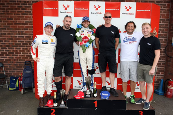 MGR Dominates Protyre Formula Renault Podium at Brands Hatch